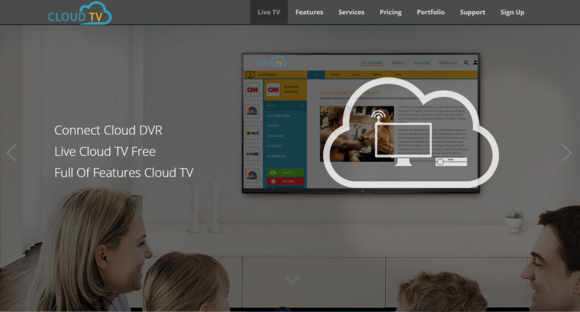 Bootstrap theme Cloud-TV