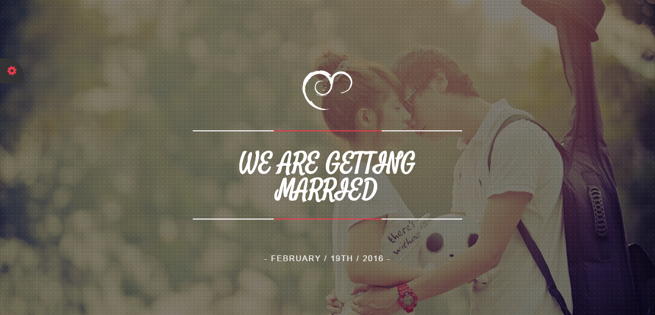 Bootstrap template & theme uWeding- Multipurpose For Wedding & Couple