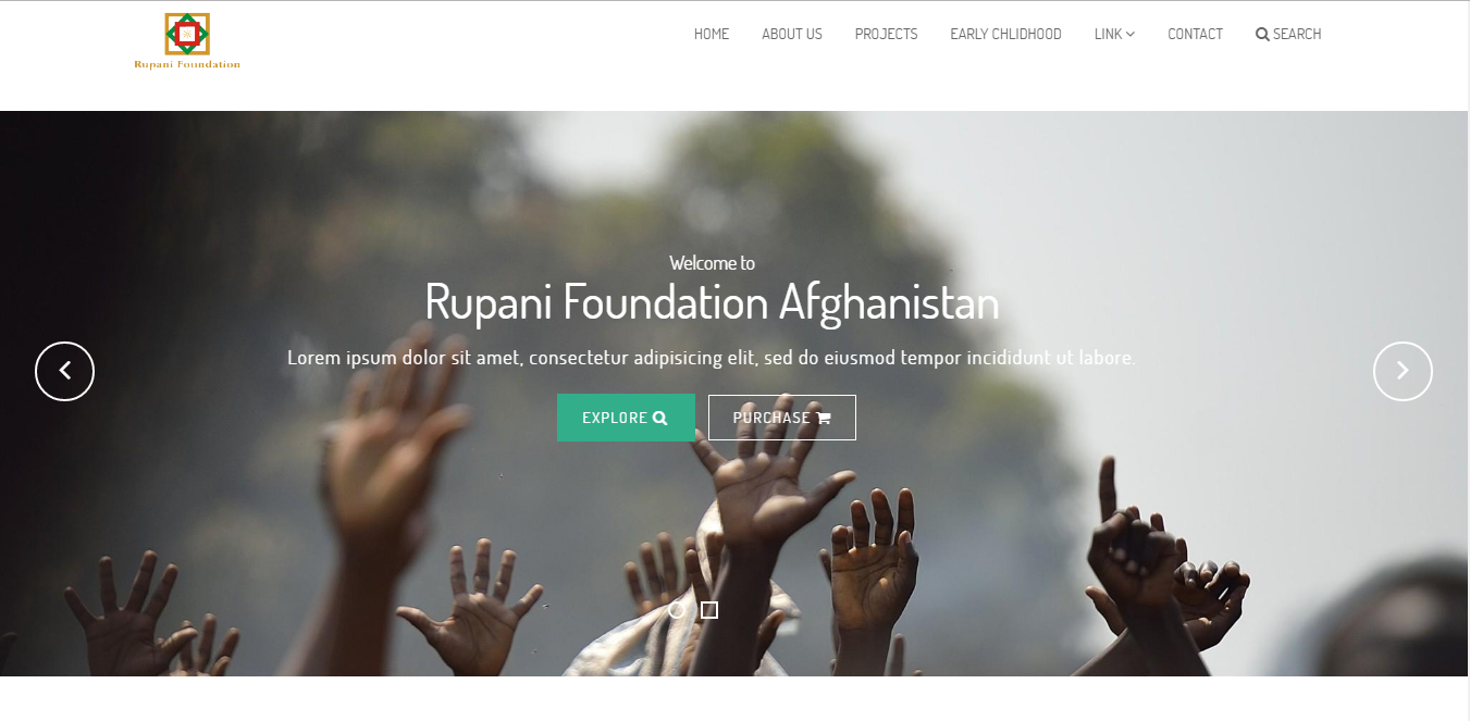 Bootstrap theme Ropani: A Fund Raising and Social Cause Foundation Theme