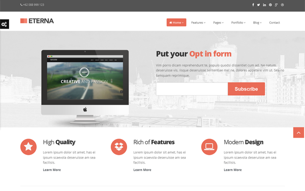 Eterna complete bootstrap theme bootstrap responsive themes for Bootstrap table design template