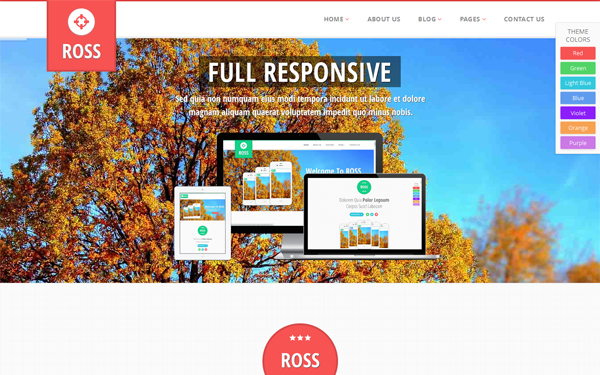 Bootstrap theme One Page - Multi Page - Ecommerce