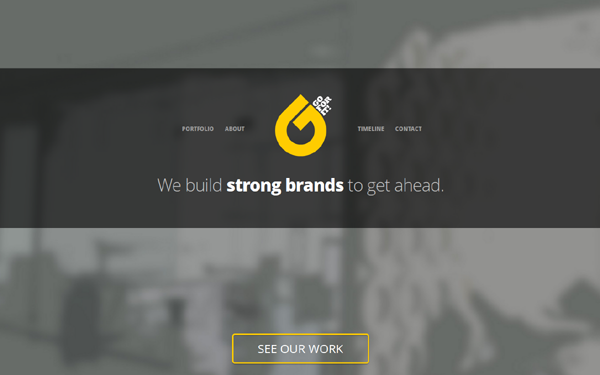 Bootstrap theme Go For It - Creative Template