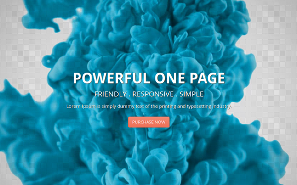 Bootstrap theme Deusone - Responsive One Page Template