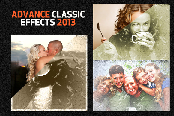 Bootstrap template Advance Classic Effects PS Action