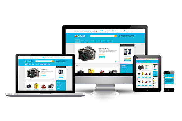 Bootstrap template Pav Plaza Responsive Opencart Theme
